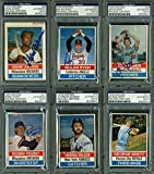 1976 Hostess Baseball Cards Signed Complete Set Of 150 W/Thurman Munson - PSA/DNA Certified - Autographed Baseball Cards