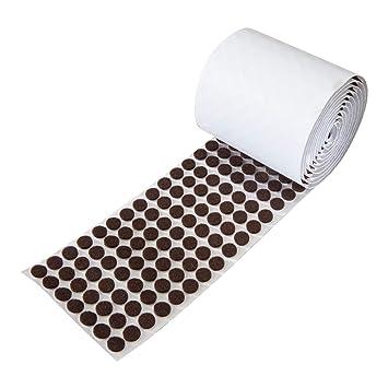 rok hardware heavy duty self adhesive felt pad bumpers 3 8 rh amazon com