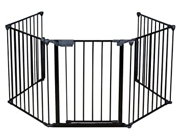 amazon com fireplace fence baby safety fire gate for kids pellet rh amazon com