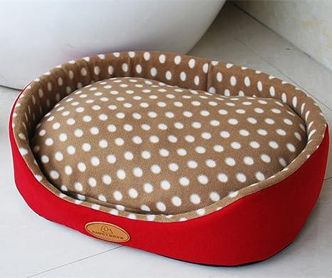 weare Home ovalado Café con interior Cojín perro gato cama ...