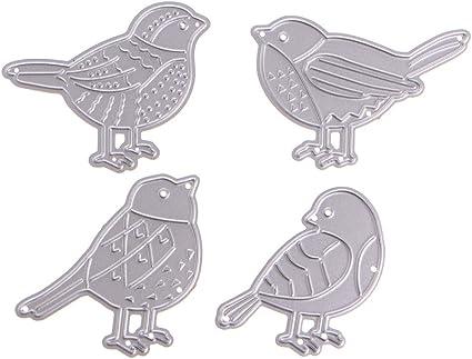 Metal Cutting Dies Bird Shape Embossing Stencil Scrapbook Cards Making Decor