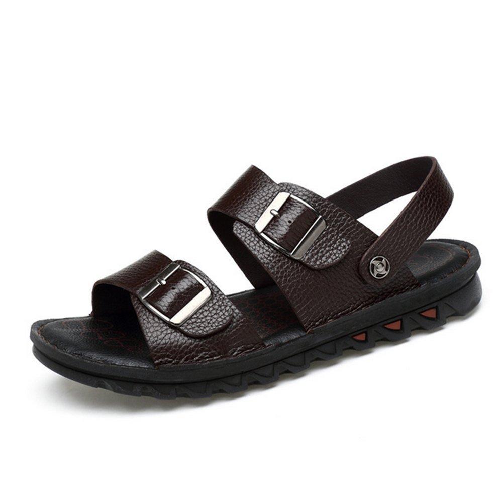 Sandalias De Verano para Hombre,Suave Protección Playa Zapatillas Longitud del pie=24.8CM(9.8Inch)|B