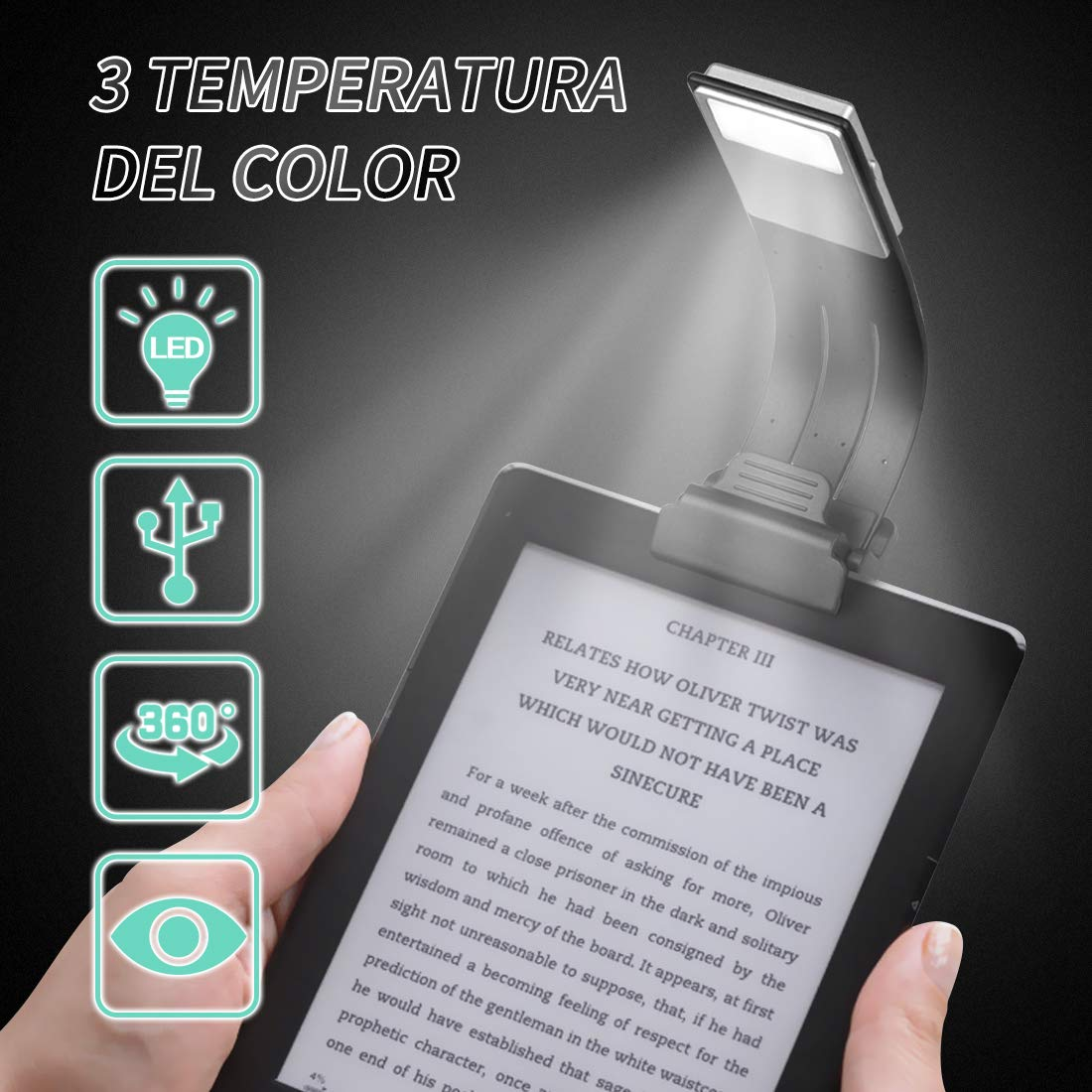 Solo compatible con kindle