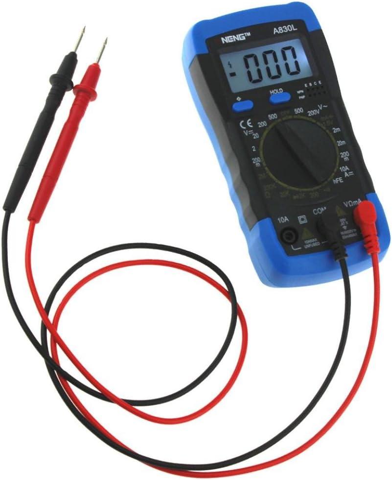LtrottedJ ANENE A830L - Voltímetro digital amperimetro y ...