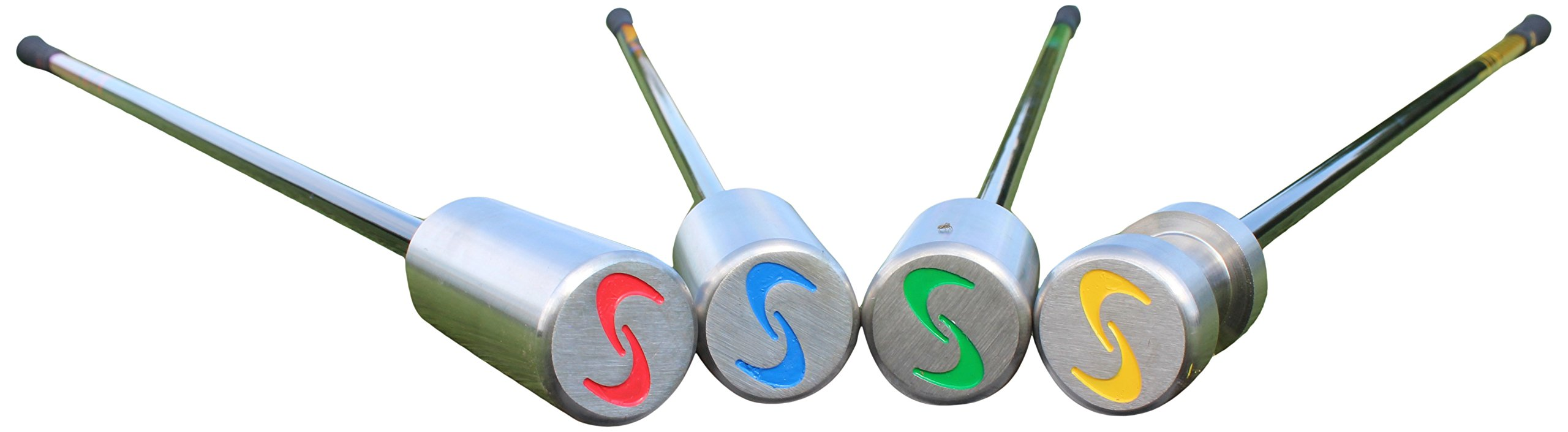 SuperSpeed Golf Adult Coaching Pack, Yellow/Green/Blue/Red by Superspeed Golf (Image #1)