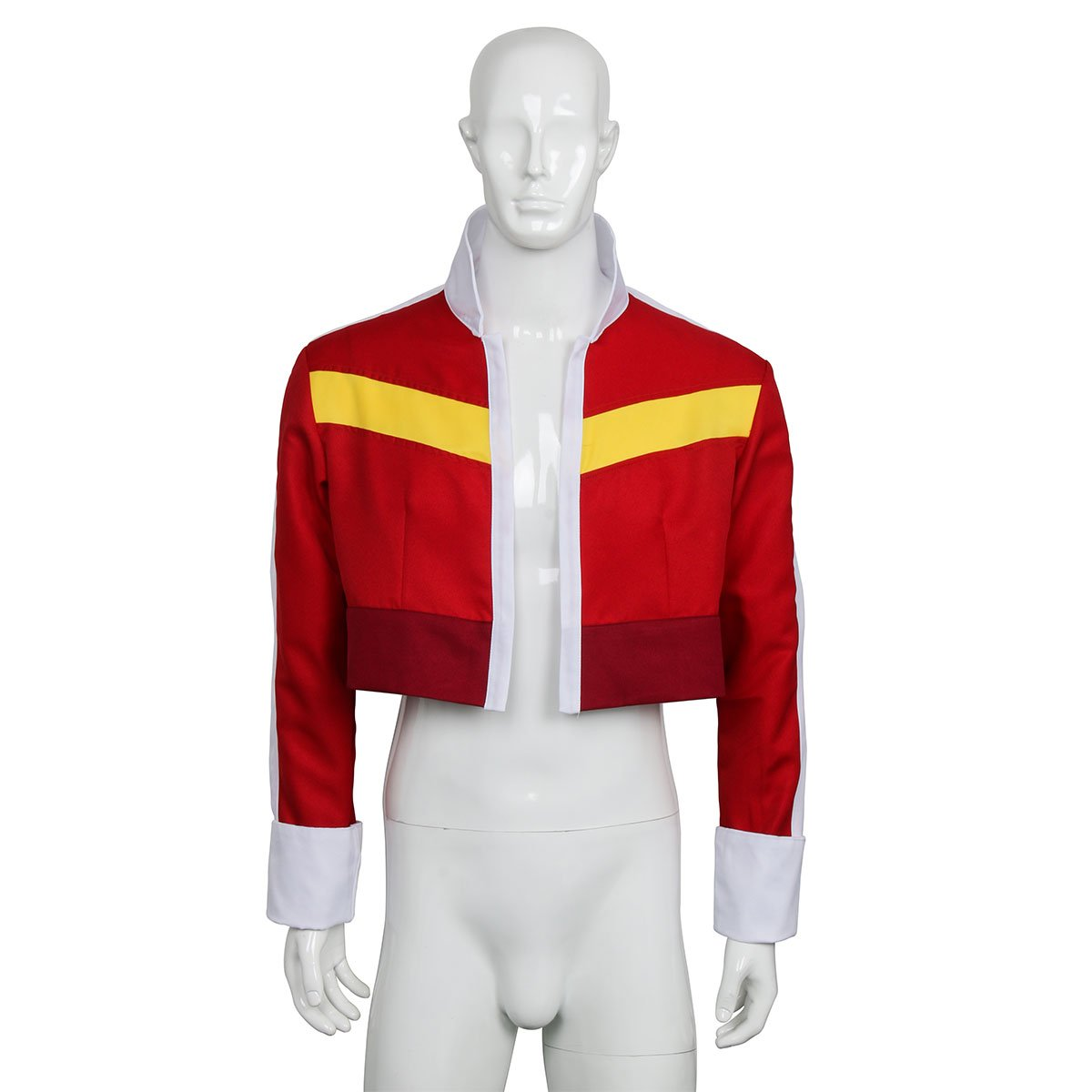 Partyever Red Paladins Jacket for Legendary Defender Keith Halloween Costume (Small, Women)