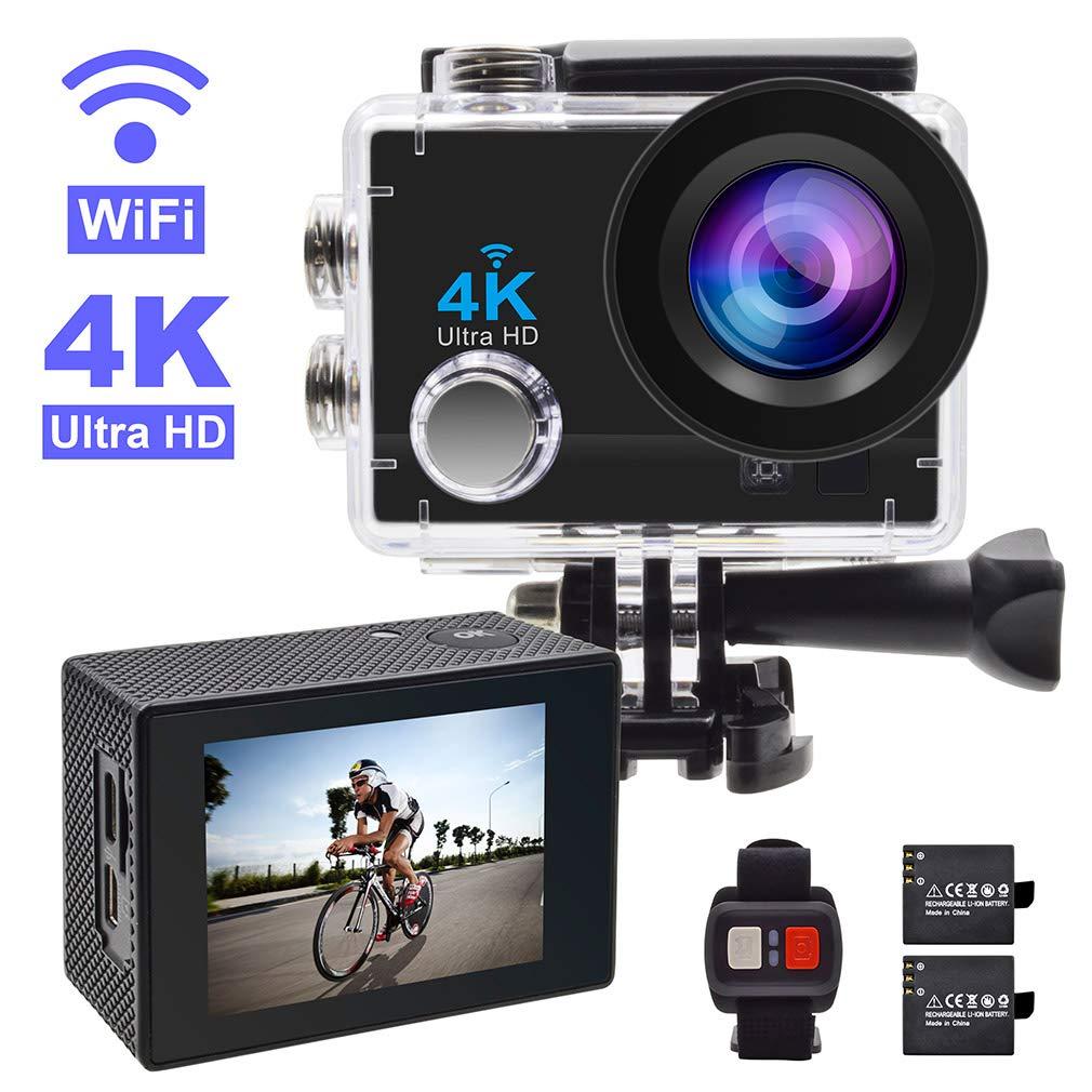 Action Camera,GEREE 4K WiFi Waterproof Sports Cam 2