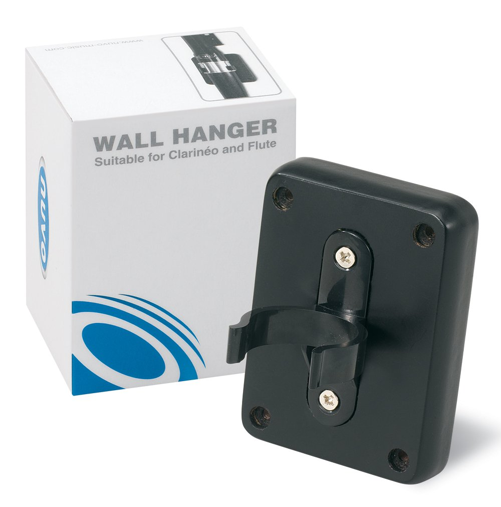 Nuvo N260FCWH Wall Hanger for Clarinet/Flute, Black