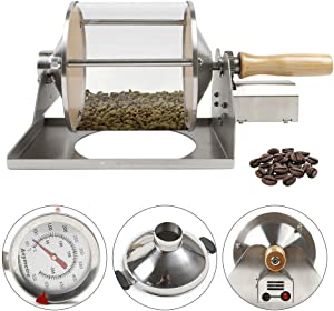 ZHFEISY Coffee Roasting Machine - Gas Burner Coffee Bean Roasting Machine Coffee Roaster Coffee Beans Baker For for Home Coffee Shop 12V 3A