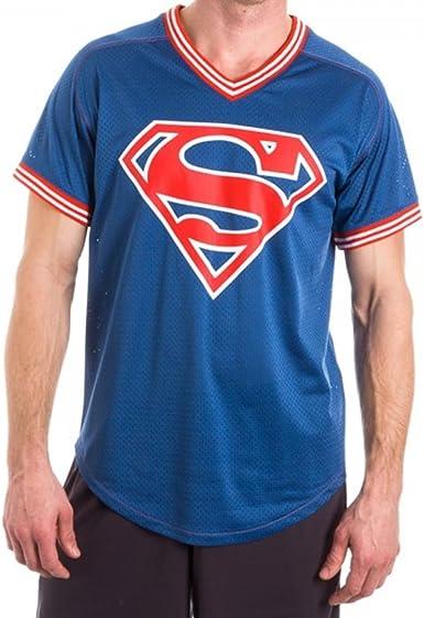 SUPERMAN BLUE T-SHIRT ORIGINAL 100/% ALL SIZES JERSEY