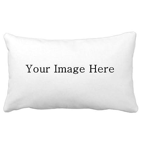 Design Your Own Pillowcase Interesting Amazon 60% Cotton Pillowcase Custom Personalized White Pillow