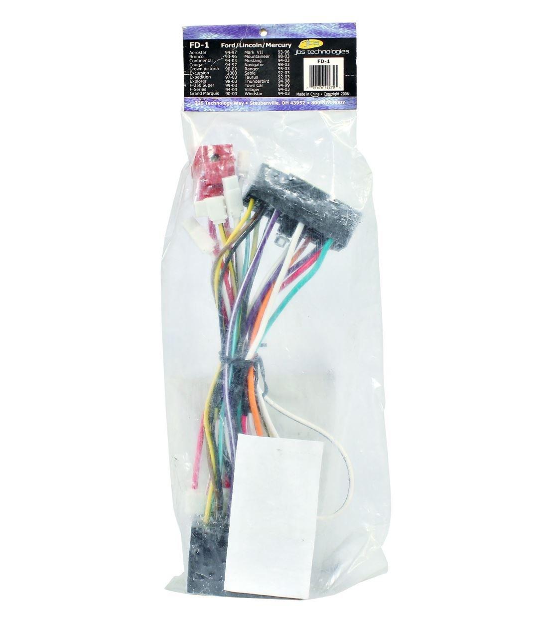 614CGOc oUL._SL1250_ amazon com bulldog fd 1 ford lincoln mercury car alarm remote fd 1 t-harness remote starter wiring at virtualis.co