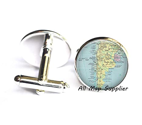 Amazon.com: Charming Cufflinks,Argentina map Cuff Links ... on large map of chile, ecuador and chile, people from chile, detailed map of chile, political leader of chile, political map of chile, street map of villarrica in chile, map of nuclear power plants in the world, map of chile with cities, map of el cono sur, map of chile coast, map show patagonia, map of southern chile, map of patagonia chile, map of copiapo chile, printable map of chile, map chile argentina border, map of chile and hawaii, map of peru, map of patagonia region,