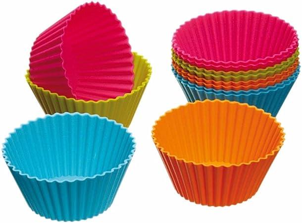 DaoRier 6 Verschiedene Schmetterlinge Modell Silikonformen Backen Kuchen Silikon-Muffin Formen Silikonformen Backen