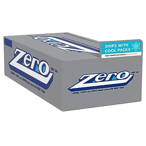ZERO White Fudge Candy Bar (Pack of 24)