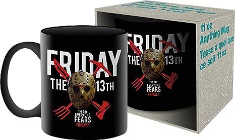 Aquarius Friday The 13th Mask 11 Oz Boxed Ceramic Mug