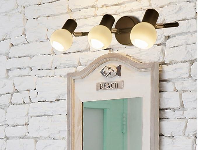 Aglia uk in stile americano led lampada frontale mirror bagno