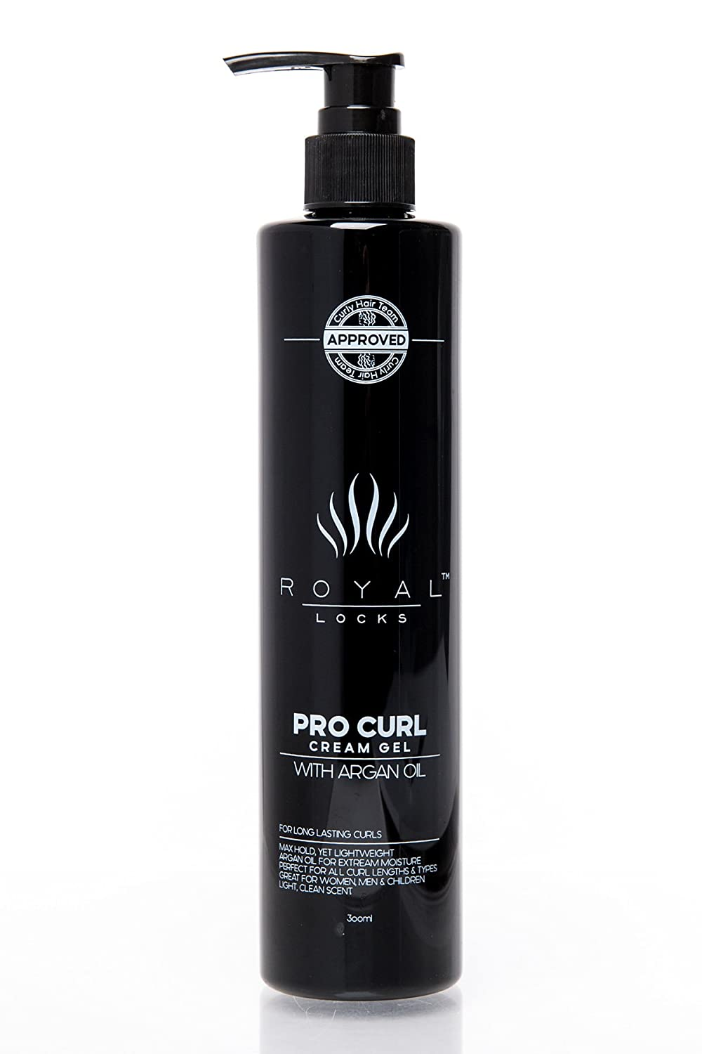Curl Cream Gel by Royal Locks. Professional Curly Hair Product Defining Cream Moisture Gel Hold and Argan Oil Infused Anti Frizz. Perfect Bounce Soft Frizz Free Waves Natural Curls or Perm