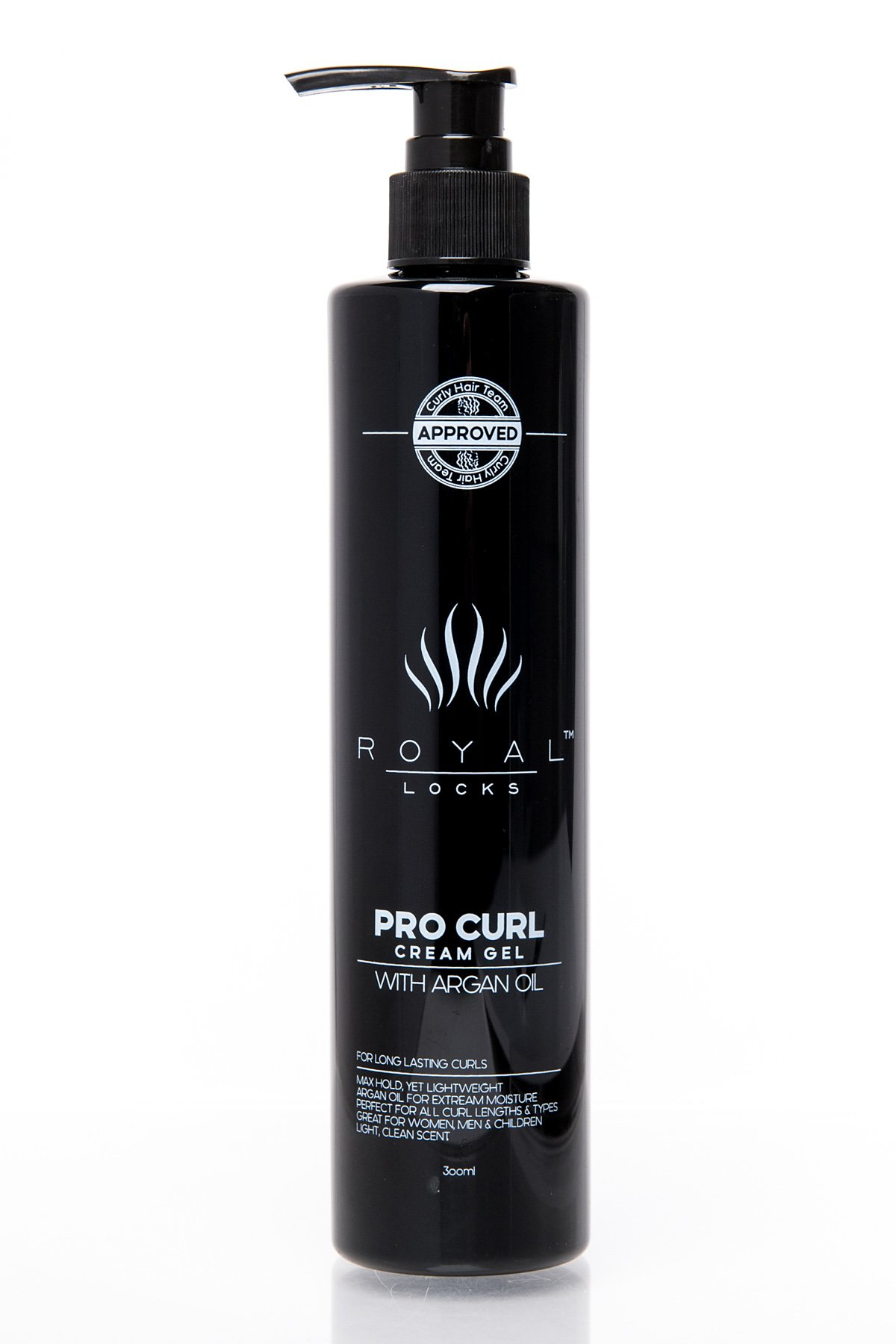 Curl Cream Gel by Royal Locks. Professional Curly Hair Product Defining Cream Moisture Gel Hold and Argan Oil Infused Anti Frizz. Perfect Bounce Soft Frizz Free Waves Natural Curls or Perm by Royal Locks