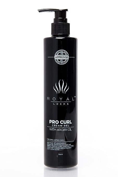 Royal Locks Crema o Gel para Peinar Rizos - Activador, hidratante, definidor y tratamiento