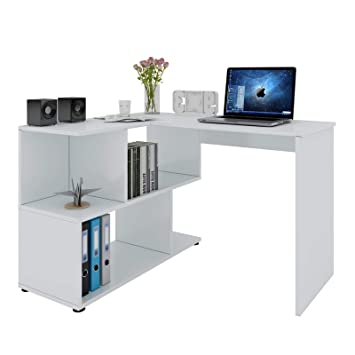Woltu Schreibtisch Ts64ws Computertisch Eckschreibtisch