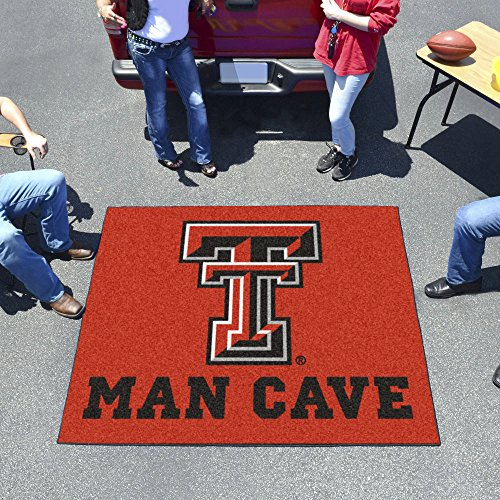 Tech Red Raiders Tailgater Mat (Texas Tech Red Raiders NCAA Man Cave Tailgater