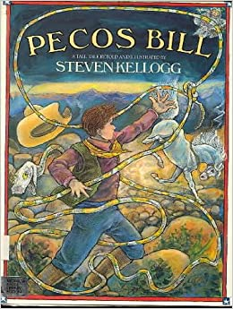 Image result for pecos bill steven kellogg