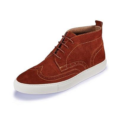 Zapatos de alta costura para otoño/invierno/UK hombres Sport/Zapatos del tablero/Zapatos de marea-D Longitud del pie=23.8CM(9.4Inch) pcwYuD