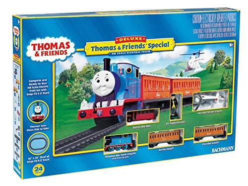 Bachmann Trains BAC00644 HO TTT DeluxeThomas & Friends Set
