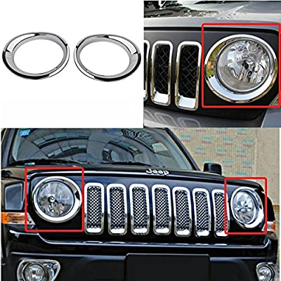 Bestong Jeep Patriot headlight cover