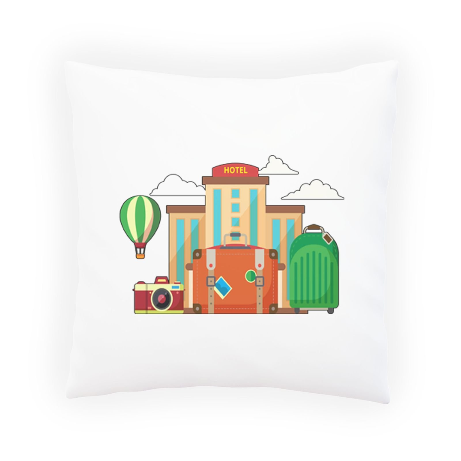 Hotel Luggage Travel World Decorative Pillow , Cushion cover with Insert or Without o841p