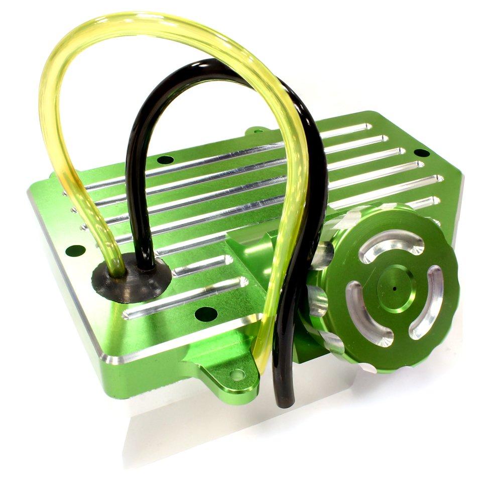 Integy RC modelo Hop-ups C25628GREEN depósito de combustible de aleación mecanizado para HPI Baja 5B, 5T y 5SC