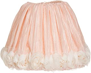 product image for Glenna Jean Contessa Lamp Shade, Pink Crinkle/Roses