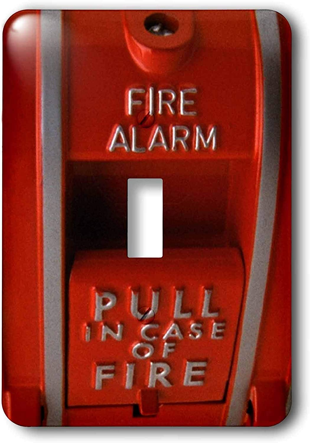 3dRose lsp_33152_1 Red Fire Box Toggle Switch, Multi-Color