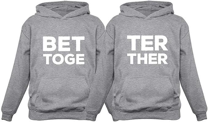 ejemplo de juego de hoodies para pareja