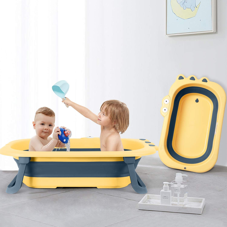 Inflatable Bathtub For Kid Baby Portable Bath Washbowl Shower Swimming Pool