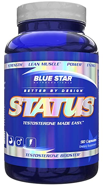 Blue Star Nutraceuticals Status 90 clear capsules