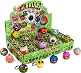 One Full Case Of 24 Mad Balls Blind Box Vinyl Keychain Series By Kidrobot