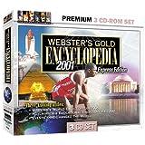 Webster's Gold Encyclopedia 2001 3 CD-ROM Set (Jewel Case)