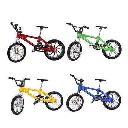 Dedo Vadoo 4 Bicicleta Juguetes Unidades Mini Aleación PiXZOkTu