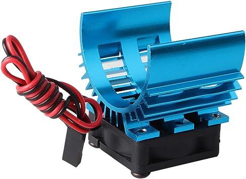 FairOnly RC Piezas Brushless Aluminio eléctrica 540 550 Motor ...