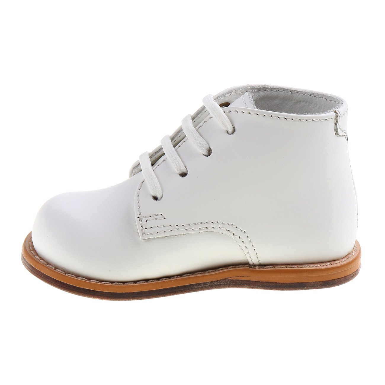 White, 3 Wide Josmo 2-8 Wide Walking Shoes