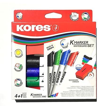 Amazon.com: Kores XW2 - Juego de rotuladores de pizarra ...