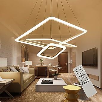 Pendelleuchte LED Dimmbar Wohnzimmer Kronleuchter Decke