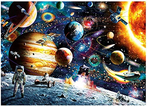 🥇 Bgraamiens Space Puzzle 1000 Pieces Jigsaw Puzzle for Kids Adults