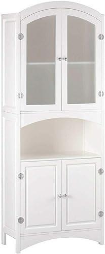 White Storage Cabinet 24x12x63