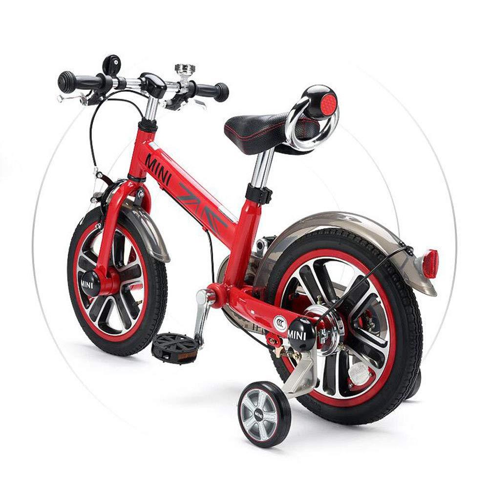 moda clasica rojo YYBABY Triciclo para para para Niños Bicicleta de Bicicleta de Bicicleta para niños, Bicicleta de Freestyle para niños, Bicicletas de Entrenamiento para niños Bicicleta con estabilizadores y Cesta La Seguridad  Entrega directa y rápida de fábrica