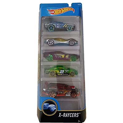 Hot Wheels x Raycers 5 Pack 2016 Collection: Toys & Games