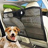 Pet Dog Car Barrier Mesh Net Backseat Barrier for SUV Trunk