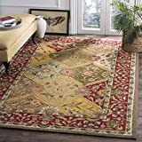 Safavieh Easy to Care Collection EZC761A Handmade Multi and Red Area Rug (3′ x 5′) Review